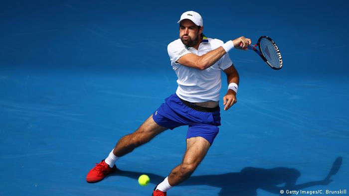 2017 Australian Open - Day 3 Jeremy Chardy (Getty Images/C. Brunskill)