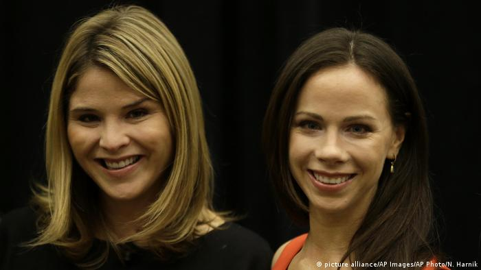 Barbara Bush and Jenna Bush Hager (picture alliance/AP Images/AP Photo/N. Harnik)