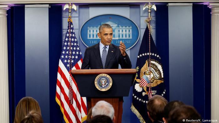 USA - Barack Obama hält letzte Rede als Präsident (Reuters/K. Lamarque)