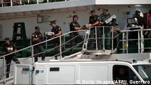 Spanien Drogenfund auf Schiff