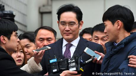 Südkorea Prozess Samsung Lee Jae Yong (Getty Images/AFP/J. Yeon-Je)