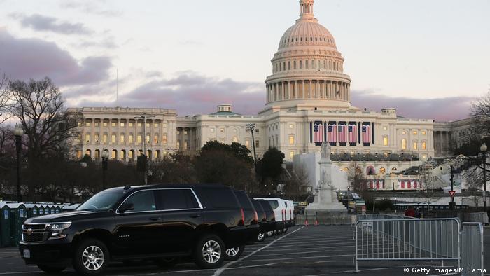 特朗普就职:准备好了,美利坚分裂国