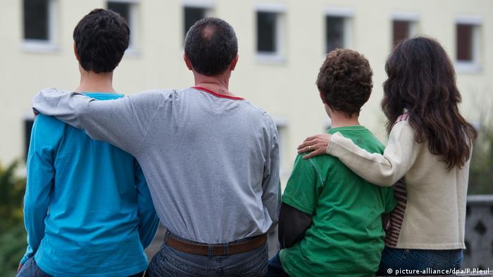 Familiennachzug Flüchtlinge Asyl Asylrecht (picture-alliance/dpa/P.Pleul)