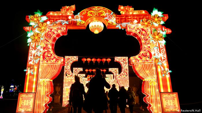 Magic Lantern Festival London Großbritannien (Reuters/N.Hall)