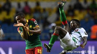 Afrika Cup 2017 Guinea-Bissau gegen Kamerun