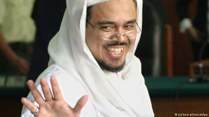 Habib Rizieq Shihab (picture-alliance/dpa)