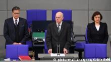 Deutschland Bundestag Gedenken an die Opfer des Anschlags am Breitscheidplatz