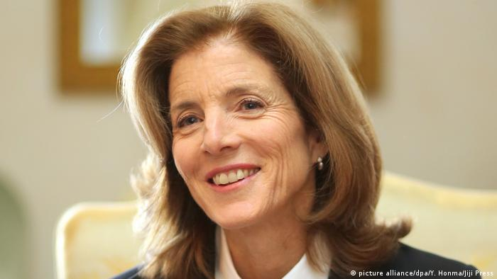 Caroline Kennedy (picture alliance/dpa/Y. Honma/Jiji Press)