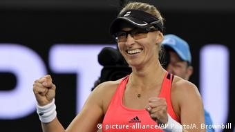 Australian Open Tennis 2017 - Mirjana Lucic-Baroni (picture-alliance/AP Photo/A. Brownbill)
