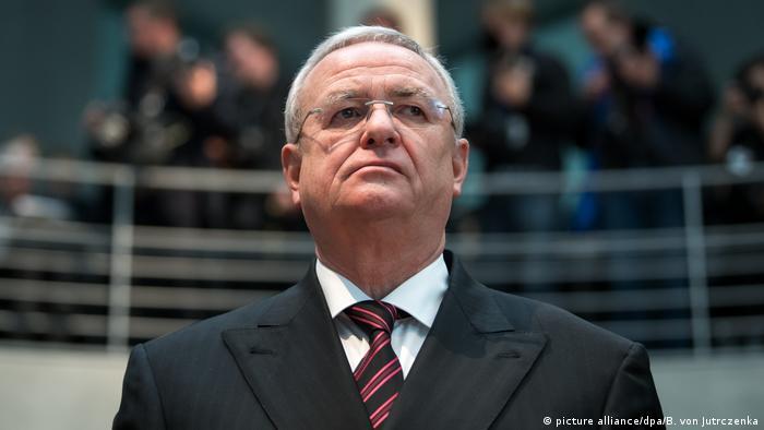 Martin Winterkorn vor dem Bundestagsuntersuchungsausschuss
