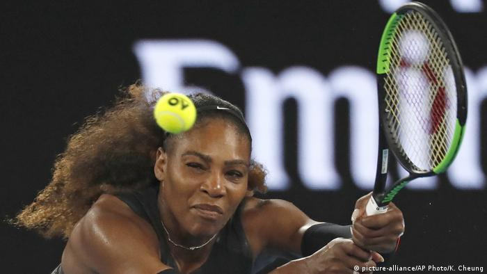 Australian Open Tennis - Serena Williams, USA (picture-alliance/AP Photo/K. Cheung)