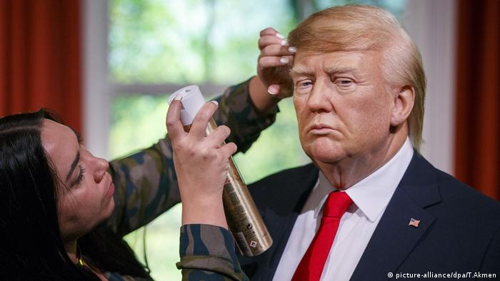 Donald Trump in Wax Madame Tussauds London (picture-alliance/dpa/T.Akmen)