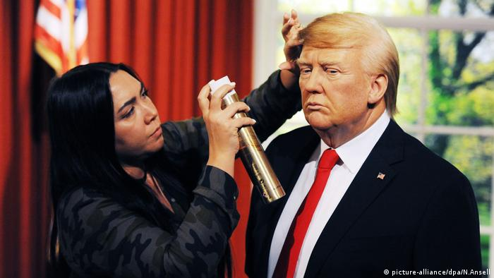 Donald Trump in Wax Madame Tussauds London (picture-alliance/dpa/N.Ansell)