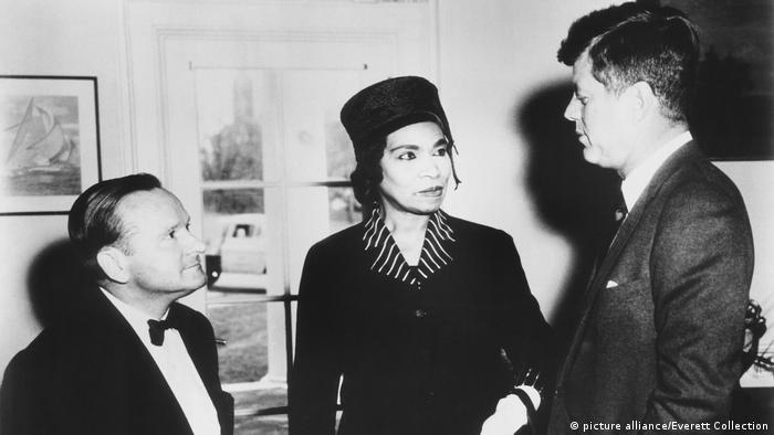 Franz Rupp, Marian Anderson and John F. Kennedy