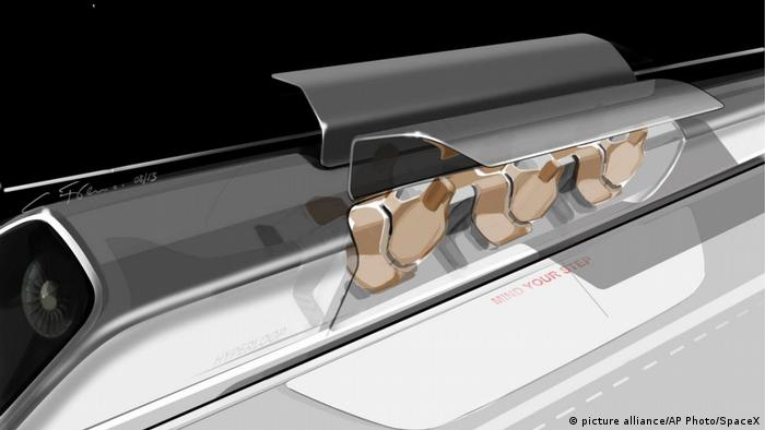 Випробування Hyperloop (picture alliance/AP Photo/SpaceX)