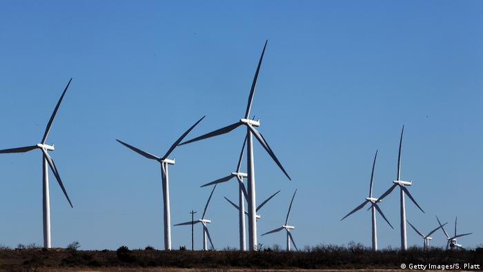 USA Windkraft in Texas