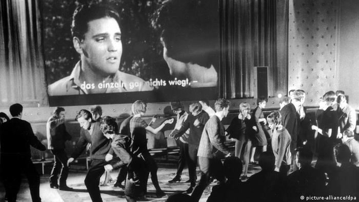 Немецкая дискотека в 1964 году