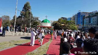 Äthiopien Epiphanie in Addis Abeba