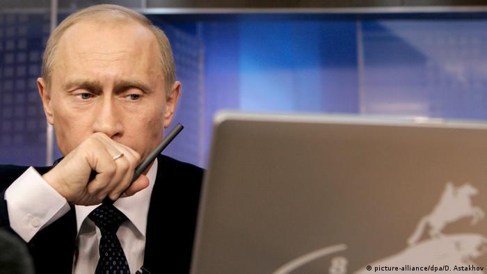 Wladimir Putin sieht Internet als CIA-Werkzeug