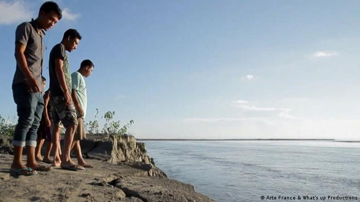 Indien Majuli versinkt im Fluss (Arte France & What's up Productions)