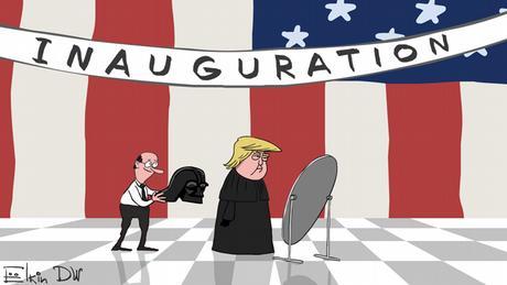 Фотогалерея: Рік Трампа в карикатурах Сергія Йолкіна