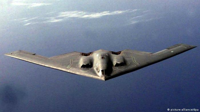 Американский стратегический бомбардировщик B-2 Spirit