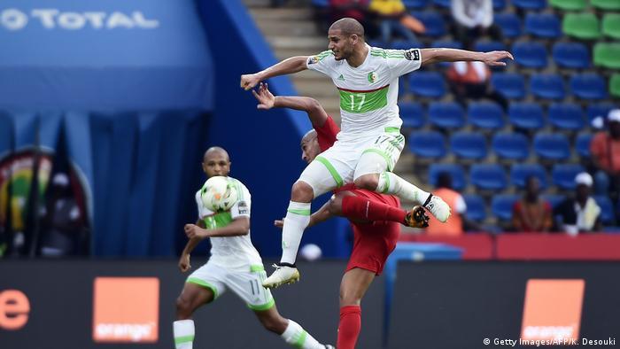 Fußball Africa Cup - Algerien vs. Tunesien