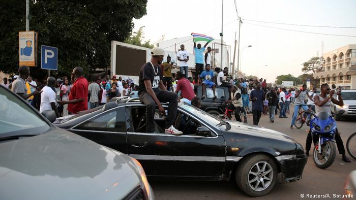 Gambia Siegesfeiern nach Vereidigung von Adama Barrow