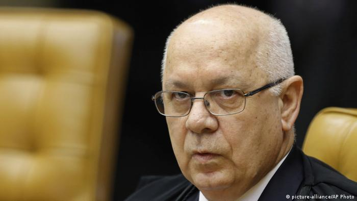 Brasilien Teori Zavascki (picture-alliance/AP Photo)