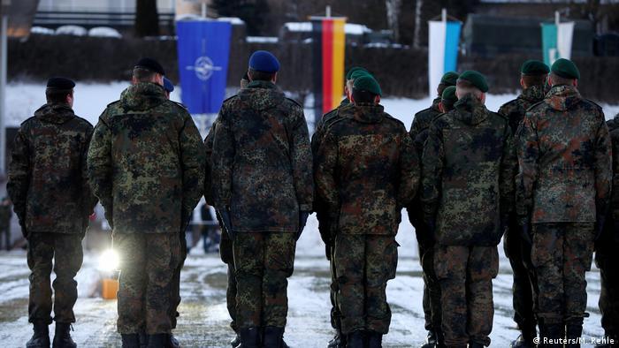 Deutschland | Panzertruppe der Bundeswehr bricht nach Litauen auf