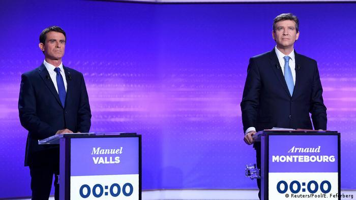 Frankreich | Präsidentschaftswahl | TV-Debatte (Reuters/Pool/E. Feferberg)