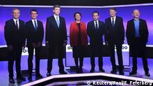 Frankreich | Präsidentschaftswahl | TV-Debatte