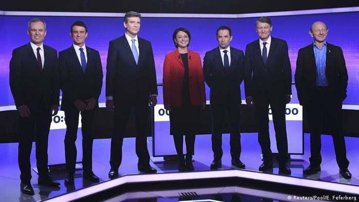 Hamon gets edge as France Socialists debate once more