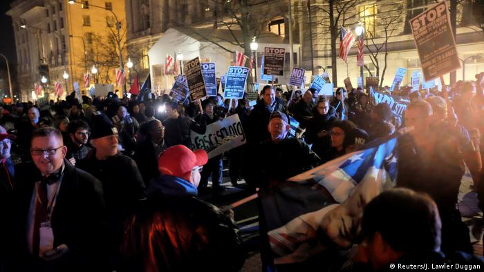 USA | Anti-Trump-Proteste in Washington (Reuters/J. Lawler Duggan)