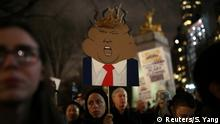 USA | Anti-Trump-Proteste in New York