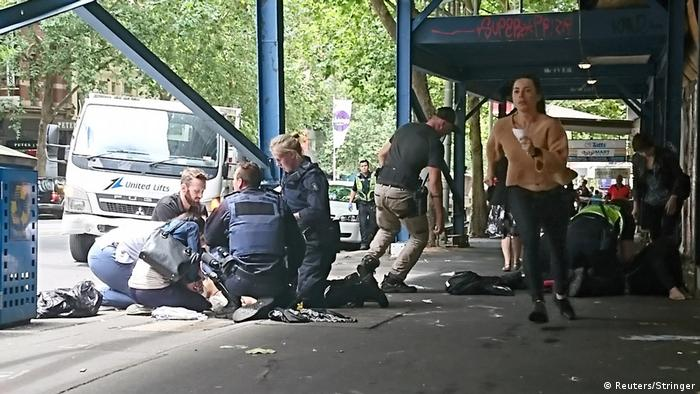 На місці наїзду авто на людей у Мельбурні