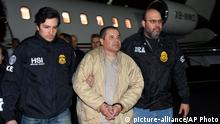 USA Ankunft Drogenboss El Chapo in New York