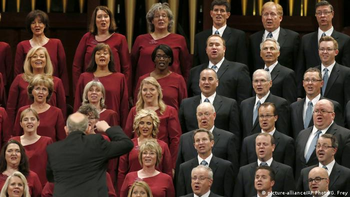 Mormon Tabernacle Choir (picture-alliance/AP Photo/G. Frey)