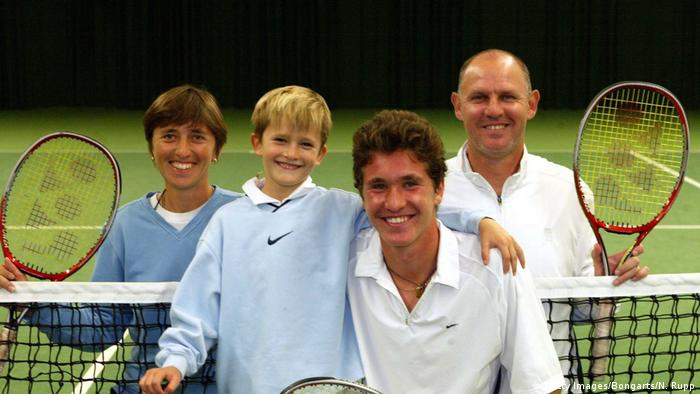 Tennis Familie Zverev (Getty Images/Bongarts/N. Rupp)