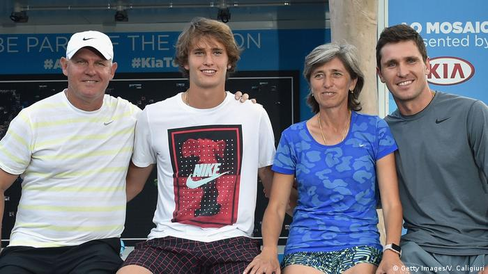 The Zverev family