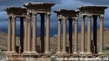 Syrien Palmyra Tetrapylon