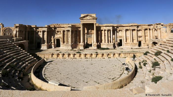 Syrien Palmyra Römisches Theather