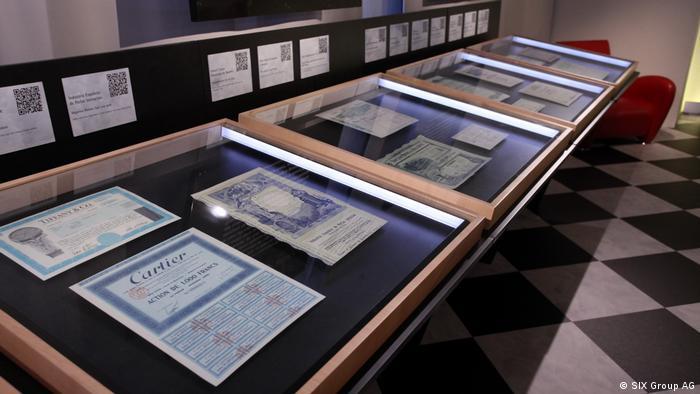 Schweiz Museum Wertpapierwelt in Olten (SIX Group AG)