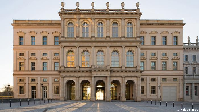 Außenansicht des Museum Barberini in Potsdam