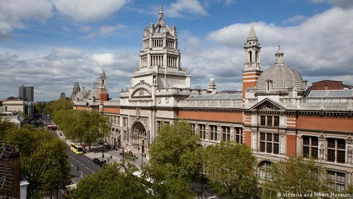 Großbritannien Victoria and Albert Museum in London (Victoria and Albert Museum)
