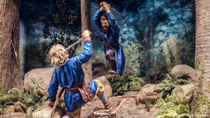 Schweden Wikingermuseum Vikingaliv in Stockholm (Vikingaliv)