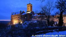 BdT - Deutschland Eisenach - Winterliche Wartburg