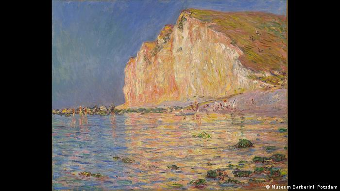 Les Petites Dalles painted by Claude Monet (Museum Barberini Potsdam)