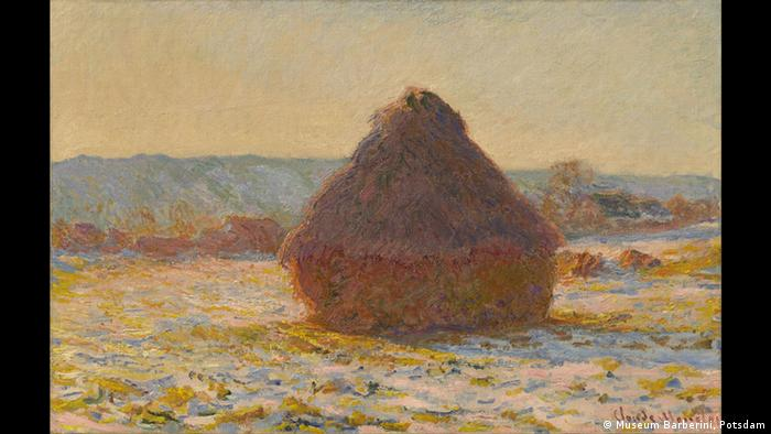 Haystack painting by Claude Monet from 1891 (Museum Barberini, Potsdam)