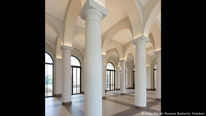 Foyer of the Museum Barbarini (Helge Mundt, Museum Barberini, Potsdam)